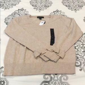 BRAND NEW! Tag on!  Tan sweater